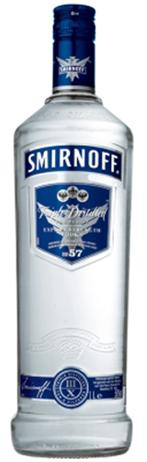 Smirnoff Vodka Blue 100@